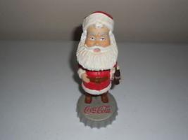 coca cola coke santa claus bobblehead figurine HARDEES - $7.21
