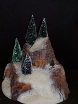 Department 56 Small Village Mountain With Trees -MIB - $25.25