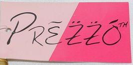 Prezzo Brand Style 3208 Black Gold Zebra Striped Clutch Purse Removable Strap image 5