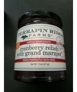 Terrapin Ridge Farms Cranberry Relish with Grand Marnier (TM) 11 oz  New - $10.65