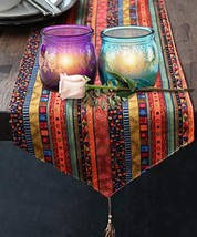 Kate Aspen Indian Jewel Henna Glass Votives 4 Henna Tea Light Holder - $19.63