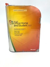 Microsoft Office Home and Student 2007 WIN32 Software Vista Windows Program - $99.99