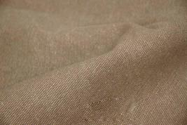 43'' Wide Handworked Fabric Thick Canvas Fabric Coffee (17.5 * 43 Inches)