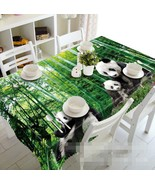 3D Bamboo Panda 18 Tablecloth Table Cover Cloth Birthday Party Event AJ ... - $58.98+