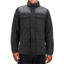 Men's Heavyweight Water And Wind Resistant Removable Hood Insulated Jacket image 9