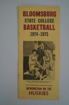 Vintage Basketball Media Press Guide Bloomsburg State College 1974 1975 - $9.89