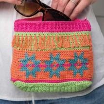 Z490 Crochet PATTERN ONLY Summer Scrap Pouches Pattern - $6.45