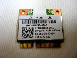 Dell Inspiron 17z 3721 5721 3520 802.11bgn DW1703 Wireless Mini PCI-E Ca... - $10.26