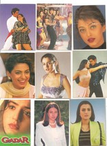 Vintage Bollywood picture card Small size PROMO... - $25.94