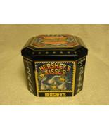Hershey's Kisses celebrating 2000 chocholet candy tin - $19.00