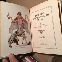 L. Frank Baum - Dorothy and The Wizard In Oz 1st Ed. with binding error - $1,225.00