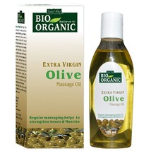 Indus Valley Bio Organic Extra Virgin Olive Massage Oil 100 ml - $10.81