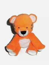 Carters Just One You Orange Tiger Plush Rattle Stuffed Animal Baby Lovey... - $18.66
