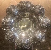 Ornate Reed & Barton FRANCIS I Sterling Silver Bowl - 10 1/2 No Mono X569 1951 - $466.57