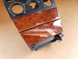 03-08 Toyota Corolla E120 Wood Grain Dash Radio Ac Control Bezel Trim Ash Tray image 2