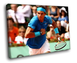 Rafael Nadal Tennis Player Champion Decor Framed Canvas Art Print - $19.95+