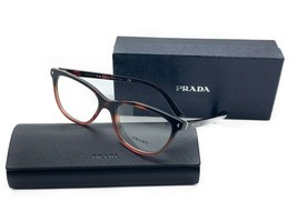 Prada VPR14RV Eyeglasses Gradient Havana w/Demo Lens TWC1O1 VPR14R 14R 52mm - $106.67