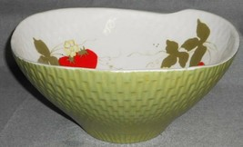 Red Wing? ANNIVERSARY LINE SHAPE Salad Bowl STRAWBERRIES Experimental? - $39.59
