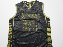 KOBE BRYANT / HALL OF FAME / AUTOGRAPHED L. A. LAKERS COMMEMORATIVE JERSEY / COA image 2