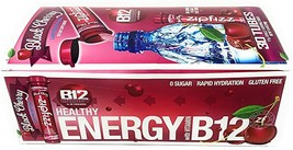 Zipfizz Healthy Energy Drink Mix, 30 Tubes BLACK CHERRY flavor - $36.99