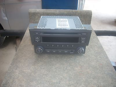 2013 2014 NISSAN SENTRA RADIO RECEIVER FM AM STERO CD  281853RA2A