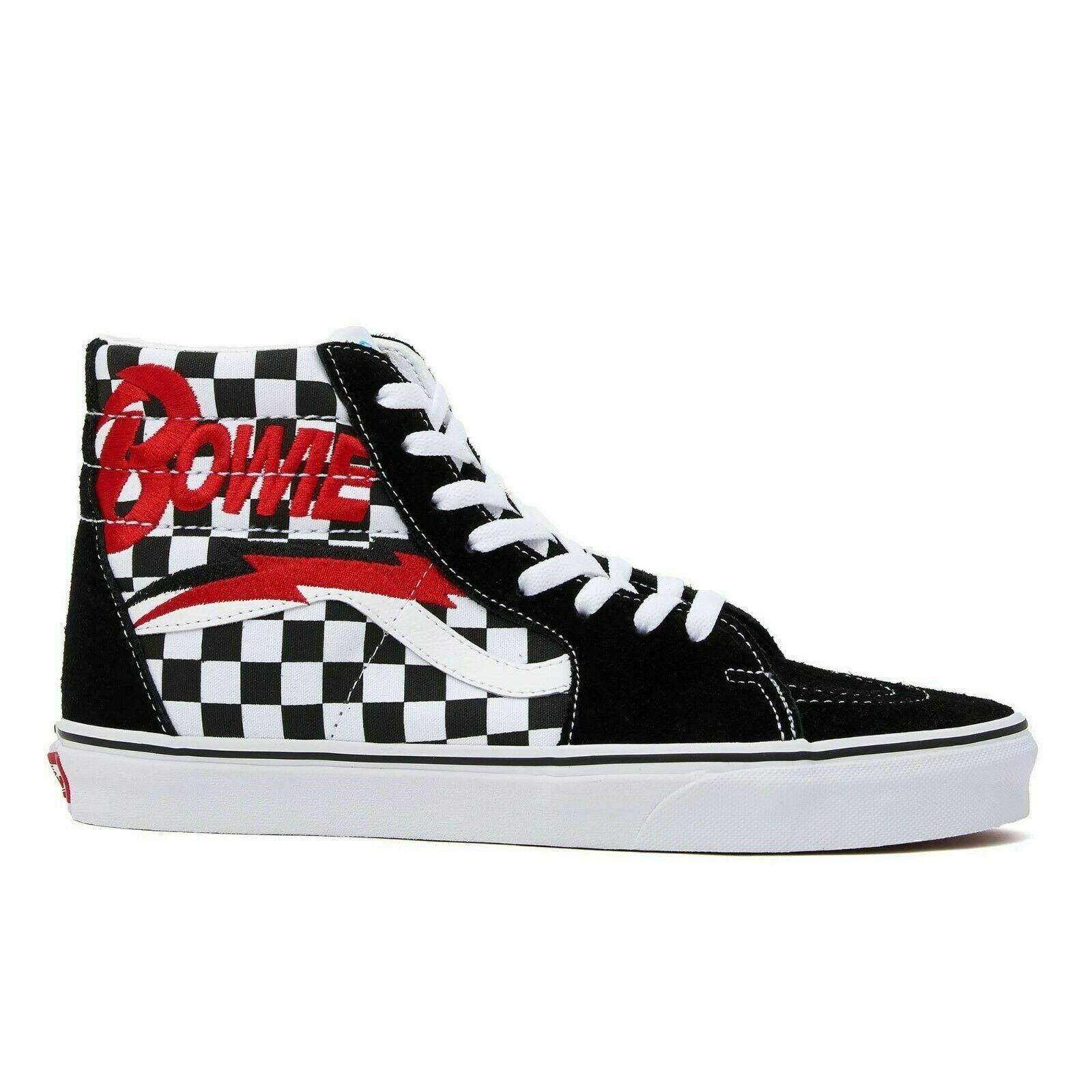 New VANS X DAVID BOWIE SK8-Hi Checkerboard Sneaker Limited edition CHECKERBOARD - $139.99