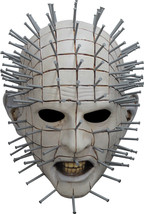 Deluxe Men's Adult Horror Hellraiser III Pinhead Halloween Mask - £49.48 GBP