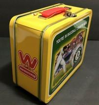 Vintage Oakland A's Metal Lunch Box SGA Wienerschnitzel Limited Edition  - $34.99
