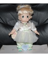 """Precious Moments Applause Blonde Tonya Doll w/ Stand 12"""" Vintage Dolls 1994 - $33.62"""