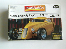 Factory Sealed Quick Builder! Aluma-Coupe by Boyd by Testors #5202 1:24 - $18.80
