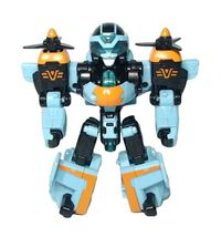 Tobot V Airpang Transformation Action Figure Airplane Vehicle Toy image 3