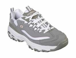 Women's Skechers Work Relaxed Fit D'Lites SR Health Care Pro Shoe Gray/L... - $103.20