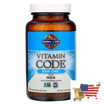 Garden Of Life Vitamin Code Raw One Once Daily Multivitamin For Men 75 Vegetaria - $47.39