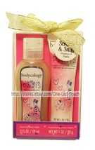 BODYCOLOGY* 2pc Body Wash+Cream PRETTY IN PARIS Travel Size CHRISTMAS Gi... - $5.99