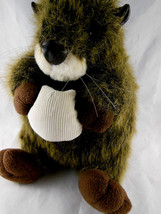 "Wombat? Otter?? 10"" RARE Hard to find Plush by UNIPAK VERY cute! - $13.26"