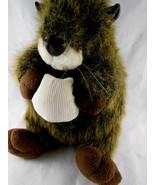 "Wombat? Otter?? 10"" RARE Hard to find Plush by UNIPAK VERY cute! - $13.26"