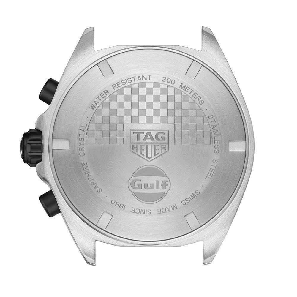 Tag Heuer Men's CAZ101N.FC8243 Formula 1 Chronograph Blue Leather Watch
