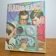 Vintage Ideal Electronic Radar Search Game 1969 Parts Repair Nice Box Retro Toy - £10.12 GBP