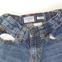 Oshkosh B'gosh Youth Boys Adjustable Waist Loose Fit Straight Leg Jeans Sz 6 image 4