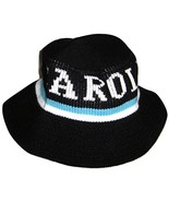 Carolina Knit Bucket Hat Cap Teal/Black - $13.98