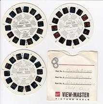 View Master 1969 The True Story Smokey Bear VIEWMASTER 3 Reel Set - $26.82