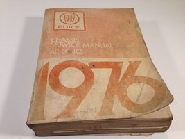 1976 Buick Factory Shop OEM Chassis Service Manual All Series - $14.99