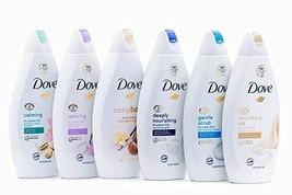 Dove Body Wash Variety 6 Pack - Shea Butter, Pistachio Cream, Coconut Milk... - $36.63