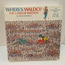 New Vtg Sealed 1990 Where's Waldo? The Land Of Waldos 550 pc Puzzle Handford USA - $22.98