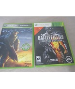 Lot of 2 XBOX 360 -  Battlefield 3 Limited Edition and HALO 3 with Manual - $19.99