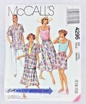 Vtg Sewing Pattern UNCUT McCalls Easy 1980s Top Skirt Pants 18 20 Bust 40 42 N58 - $6.57