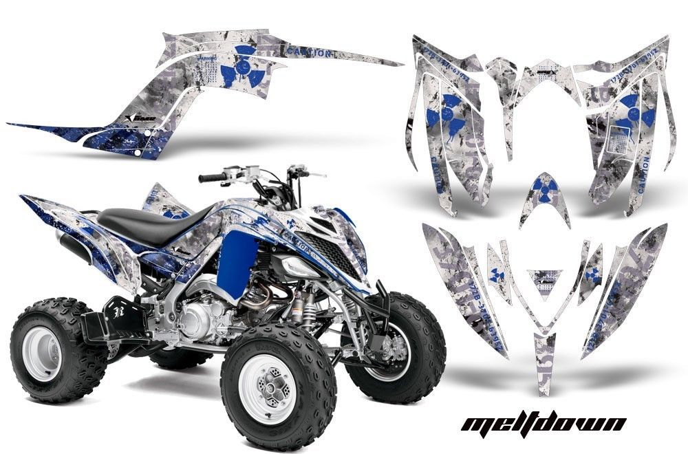ATV Graphics Kit Decal Sticker Wrap For Yamaha Raptor 700R 2013-2018 MLTDWN U W