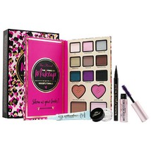 Too Faced The Power Of Makeup By Nikkietutorials Eye Shadow Blush Highlighter - $74.89