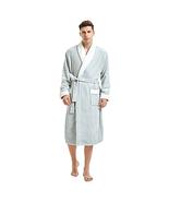 U2SKIIN Men's Fleece Robe Plush Collar Shawl Bathrobe - Choose SZ/Color - $30.74+