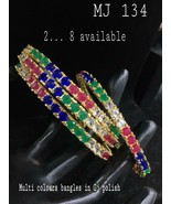 Traditional High Quality Indian Bollywood Ethnic Wedding Bracelet VU668 - $43.87